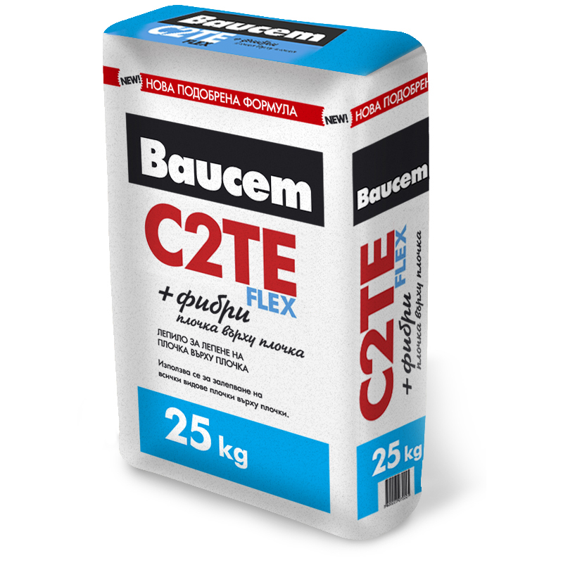 BAUCEM FAIENCE AND TERRACOTTA GLUE FLEX C2TE