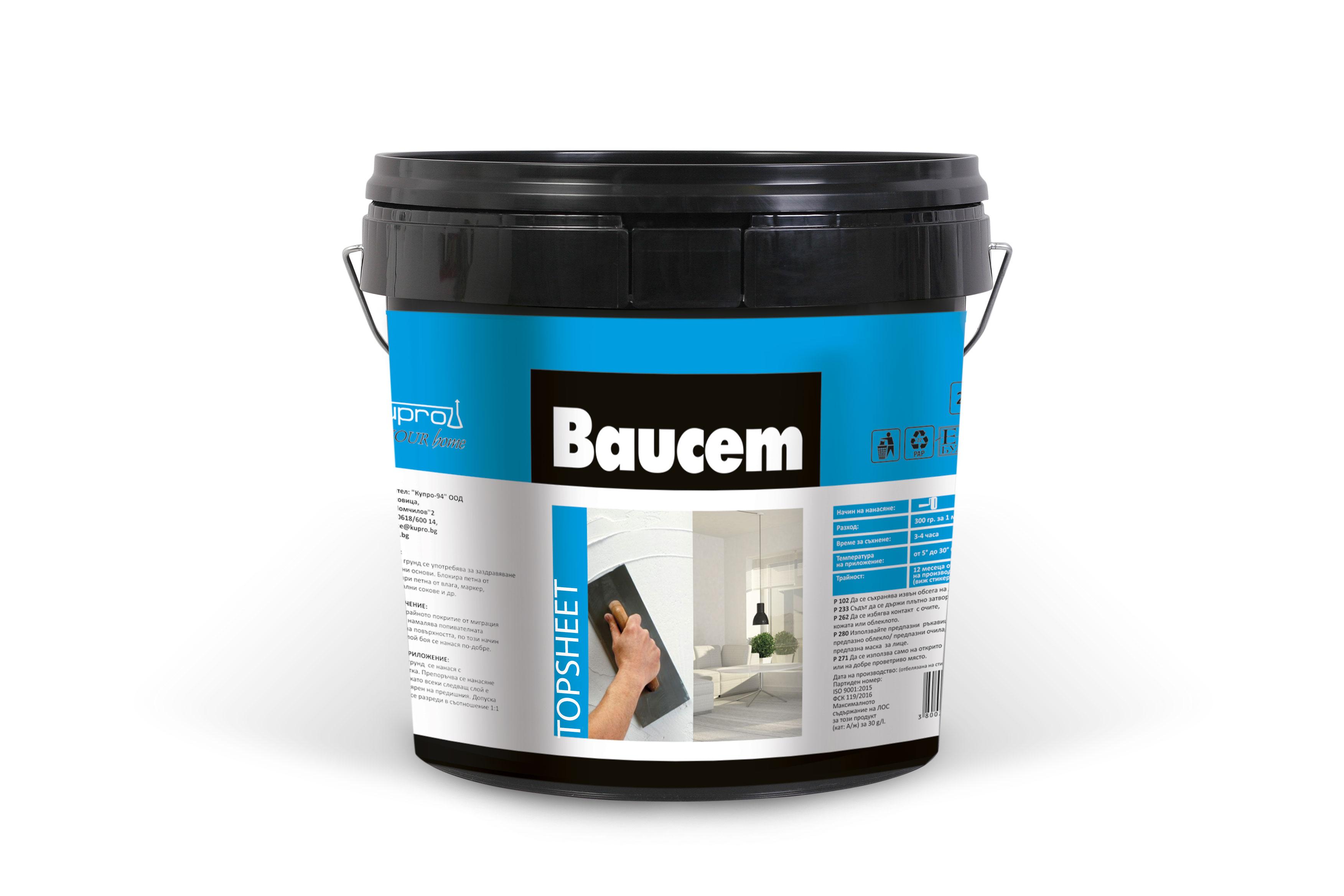 BAUCEM TOPSHEET
